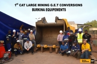 1st conversion of a Large Mining Ground Engaging Tool !