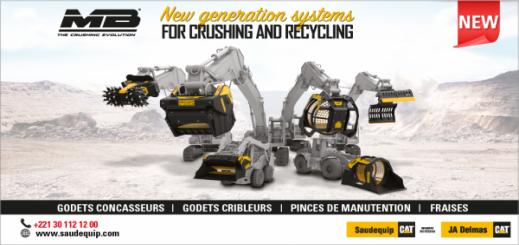Saudequip exclusive distributor MB CRUSHER for Senegal